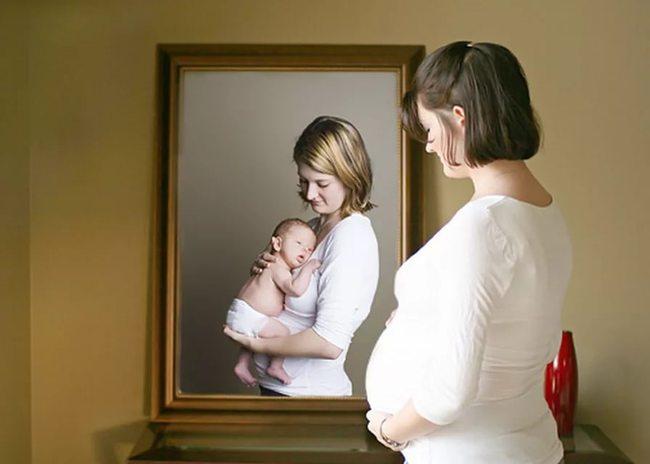 Приснился ребенок я беременна