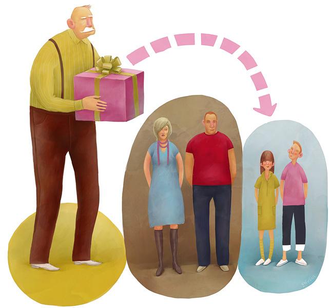Наследство гражданской жены пенсионерки задумчиво взглянула